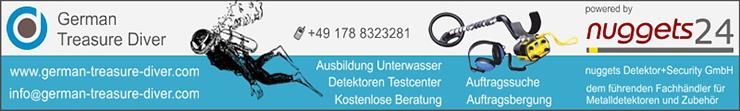 Unterwasser Schatzsucher Auftragssucher Manfred Schnur in Köln