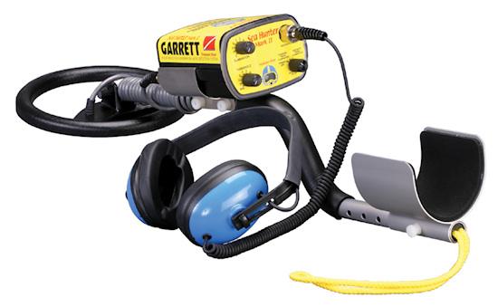 GARRETT Unterwasser Metallsuchgerät für Schatzsuche bei www.nuggets.at