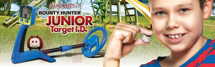 Kinder Schatzsucher Metalldetektor bei www.nuggets24.de