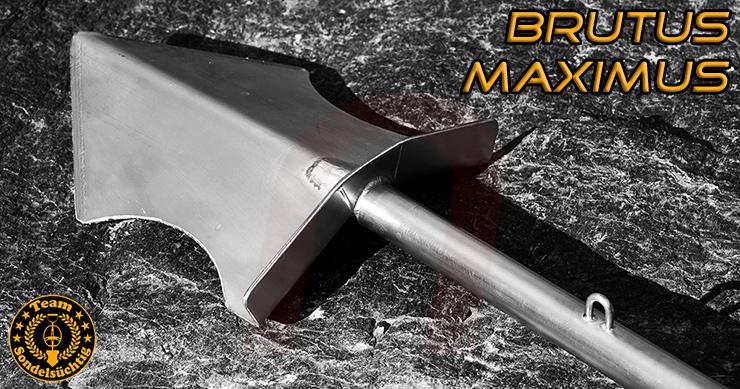 nuggets24 Grabungswerkzeug für Schatzsucher BRUTUS MAXIMUS