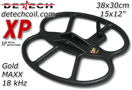 DETECH GOLDMAXX POWER XP Coil Spule Suchspule Sonde Sonden Suchspulen Online Shop www.detechcoil.com www.nuggets.at