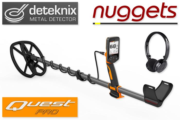 Deteknix Quest Metalldetektor