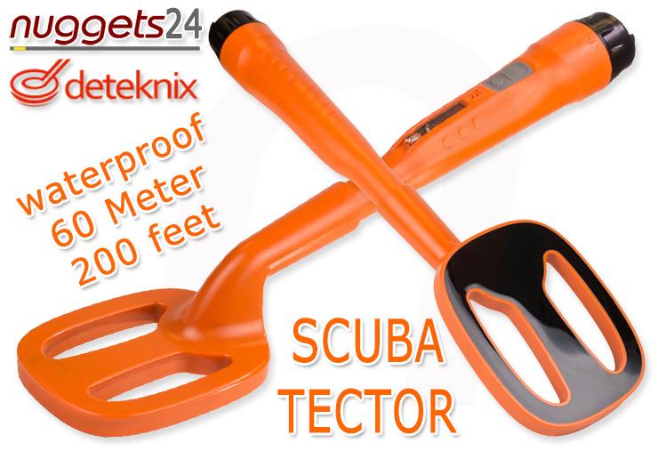 deteknix Scuba Tector ScubaTector Tektor ScubaTektor Unterwasser Metalldetektor nuggets24com