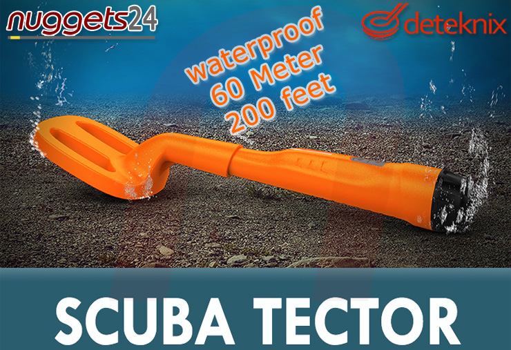 Scuba Tector ScubaTector www.nuggets24.com Metalldetektor OnlineShop 0049 700 33835867