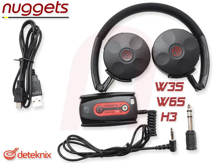 Deteknix W3S W6S H3 wireless headphone Funkkopfhörer nuggets24com