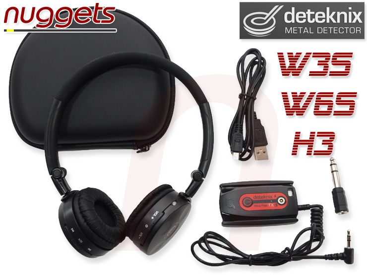 Deteknix W3S W6S H3 wireless headphone Funkkopfhörer nuggets24de