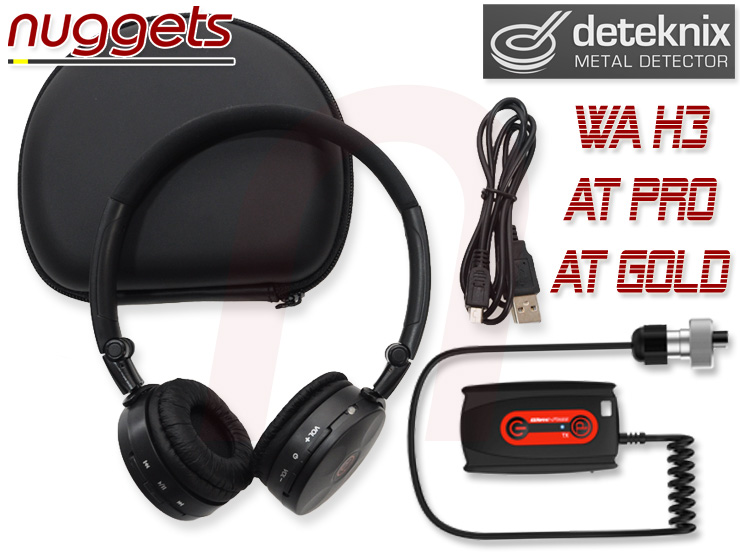 Deteknix WA H3 wireless headphone Funkkopfhörer nuggets24de