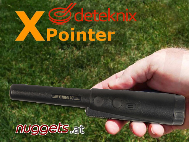 Deteknix Pin Pointer XPointer www.nuggets.at Online Shop Metal Detector Metalldetektor