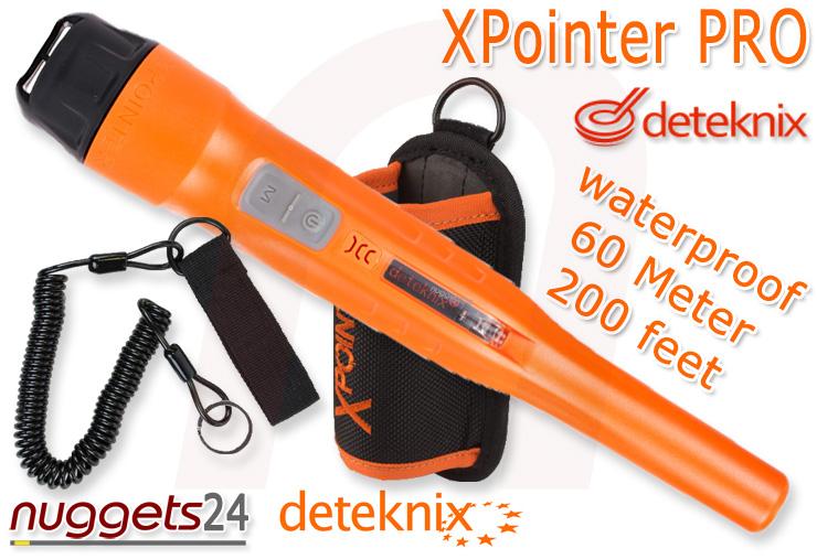 deteknix XPointer X Pointer Probe PinPointer Underwater Metal Detector nuggets24com