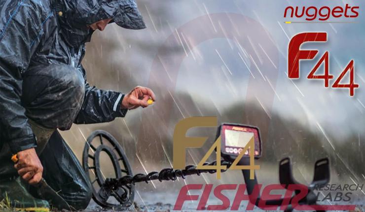 Fisher Metalldetektoren kauft man bei nuggets