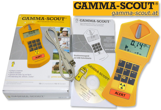 gamma-scout.at GeigerZähler Geiger Radiation Nuclear Counter