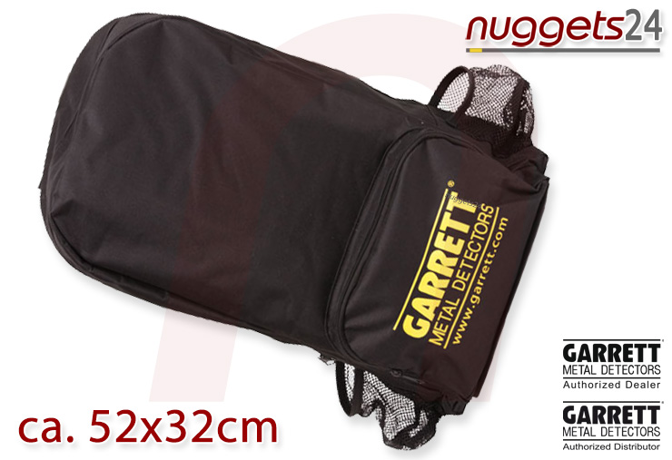 nuggets24 Metalldetektor Rucksack Backpack GARRETT