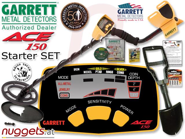 GARRETT kauft man bei www.nuggets.at Metalldetektoren Online Shop AbholShop ShowRoom Beratung Service
