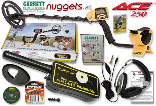 GARRETT ACE 250 kauft man bei www.nuggets.at