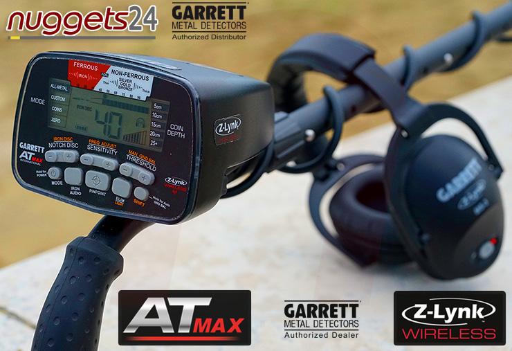 Garrett AT MAX AT-MAX Metalldetektor Metal Detector nuggets24.com