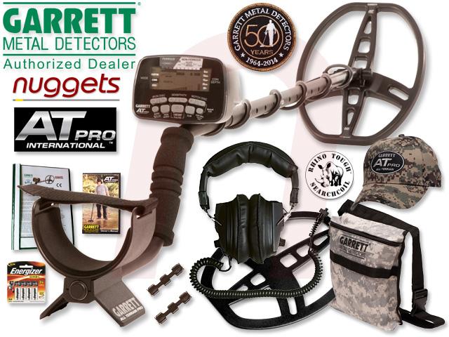 Garrett AT PRO Metalldetektor kauft man ein nuggets.at mit Beratung Service und Garantieerweiterung