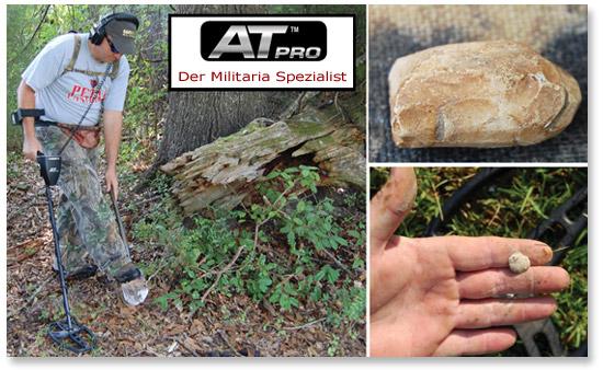 Golddetektor Militaria GARRETT AT PRO OnlineShop www.nuggets.at www.garrettaustria.com