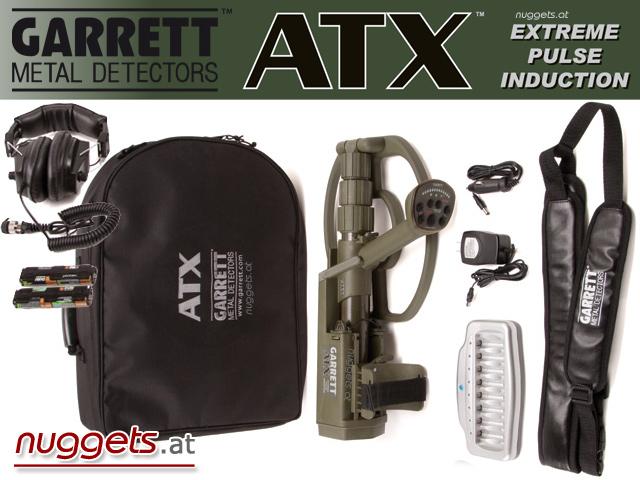 Garrett ATX Metal Detector Metalldetektor www.nuggets.at
