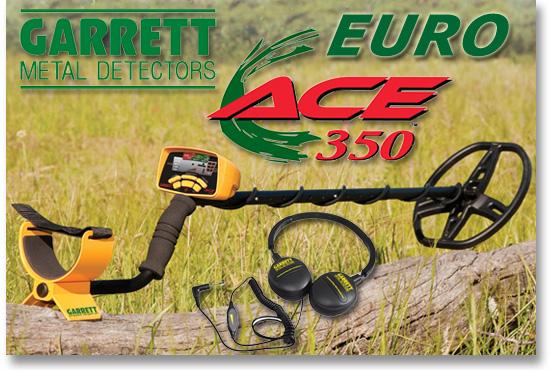 GARRETT EUROACE 350 www.nuggets.at OnlineShop Metalldetektoren Metaldetectors
