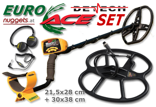 GARRETT EuroACE DETECH DEEP SEARCH SET www.nuggets.at OnlineShop