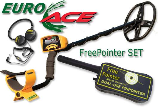 GARRETT Euro ACE 350 FREE POINTER PinPointer ProPointer SET www.nuggets.at OnlineShop Metalldetektor