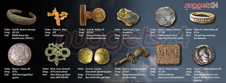 Suchen und Finden mit Metalldetektoren von nuggets24.de - gibt es ein schöneres Hobby ?