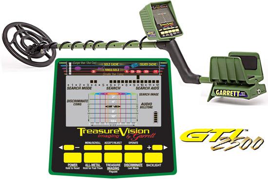 GARRETT GTI2500 Profi Metal Detector www.nuggets.at