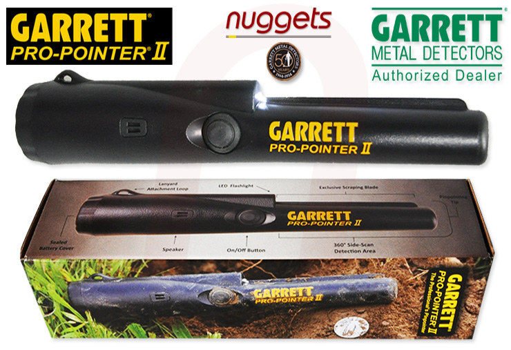 Pro-Pointer II Garrett Metalldetektor nuggets24com
