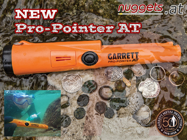 GARRETT Pro-Pointer Pro Pointer AT All Terrain www.nuggets.at Metalldetektor OnlineShop Metal Detector