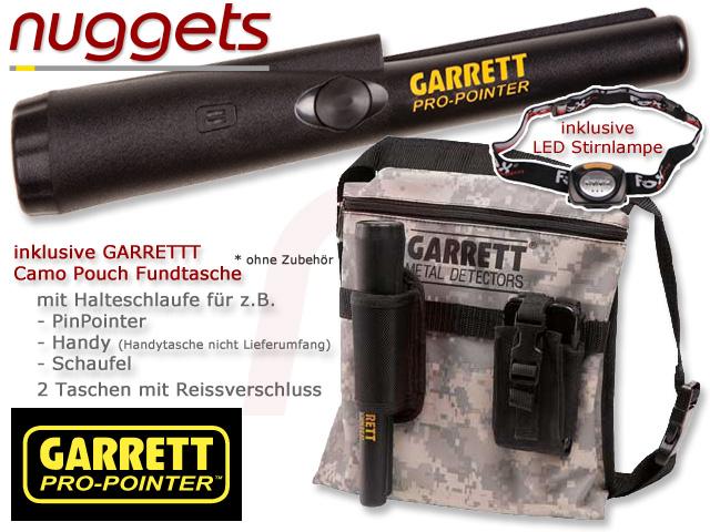 GARRETT Pro Pointer www.nuggets.at Metalldetektor OnlineShop Metal Detector