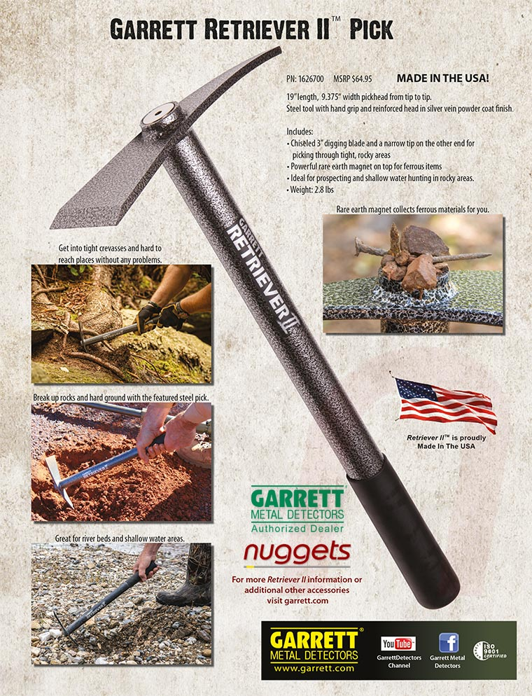 GARRETT Metal Detector Online Shop buy from nuggets.at all in stock and fast delivery