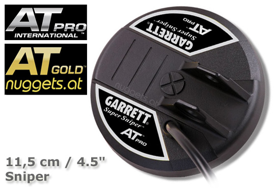 GARRETT AT PRO Sniper 4.5 11,5cm Spule Coil www.nuggets.at