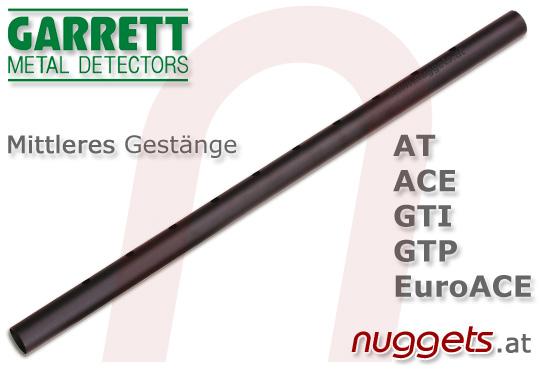 GARRETT parts part stem Gestänge unten mit Spulenanschluss for all models www.nuggets.at