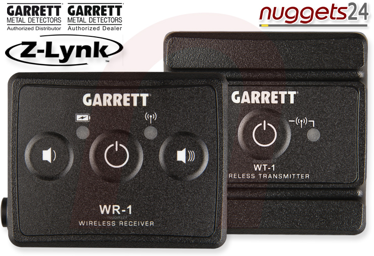 Z-LYNK Garrrett wireless headphone Metal Detector Funk Metalldetektor nuggets24