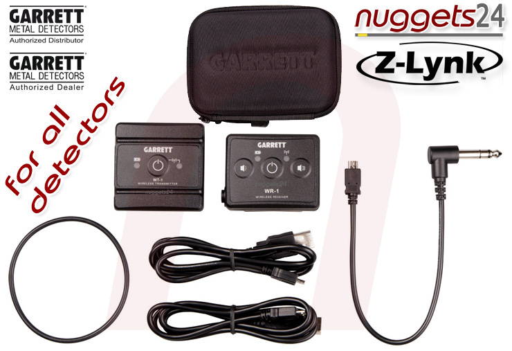 Garrett Z-LYNK Z Lynk wireless Funk Kopfhörer System nuggets24.com