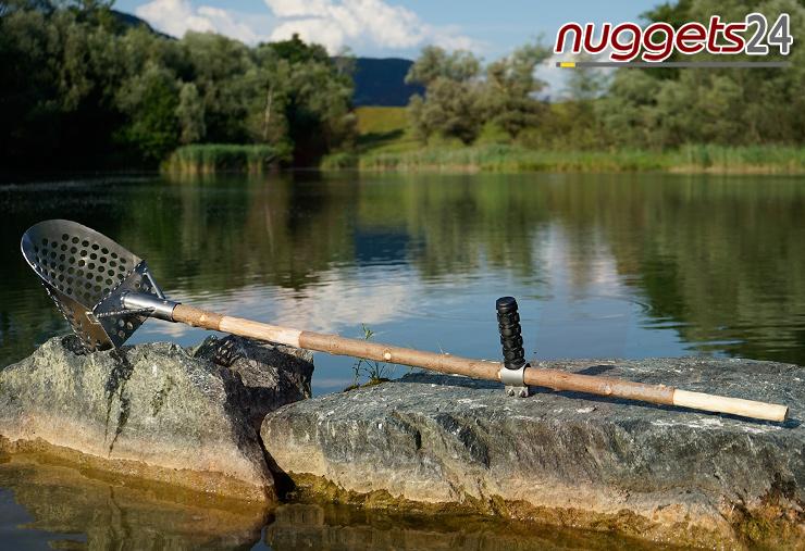 SandScoop Nautilus nuggets24 spade Spaten Grabwerkzeug Sondengänger Shop nuggets24.de