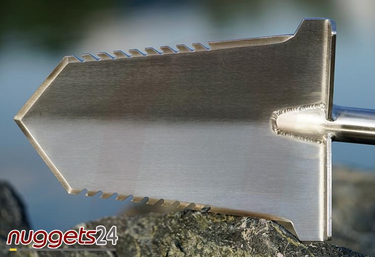 V-Blade Spaten spade www.nuggets24.com Metal Detector Online Shop