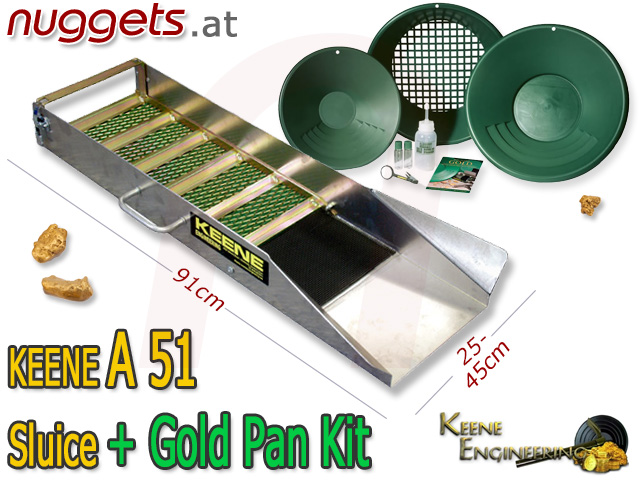 KEENE A51 bei www.nuggets.at Metal Detector Online Shop