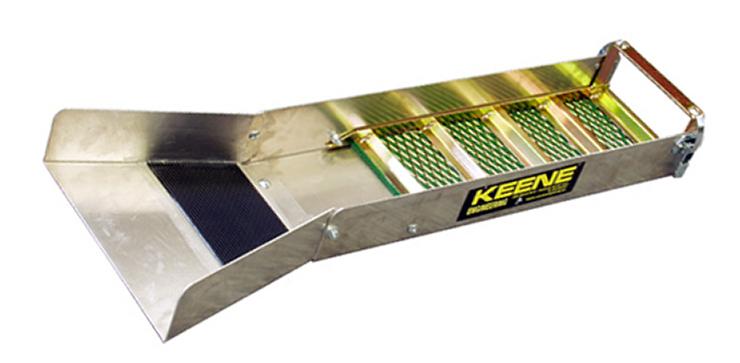 Keene A51A Sluice Goldwaschrinne nuggets24com Goldwaschschleuse Goldwaschen