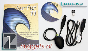 Lorenz Z1 Z-1 Metal Detector 3D 3-D Datalogger + Surfer Software www.nuggets.at