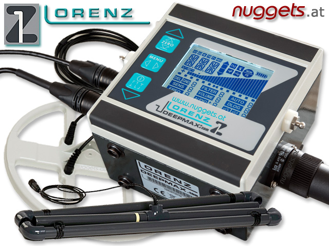 Lorenz Z1 Z-1 DeepMax Metal Detector Metalldetektor made in Germany www.nuggets.at www.nuggets24.com