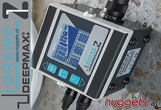 Lorenz Z1 Z 1 Z-1 DeepMax Metal Detector Metalldetektor www.nuggets.at