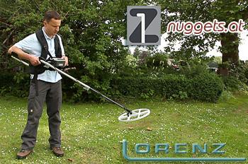 Lorenz DeepMax Z-1 MetalDetector Gold Detector Metalldetektor www.nuggets.at