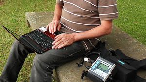 Lorenz Software + Data Logger Z1 3D 3-D Metal Detector Metalldetektor www.nuggets.at www.lorenz-z1.com