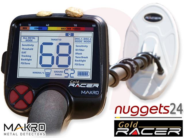 Makro Gold Racer Metall Detektor nuggets24com