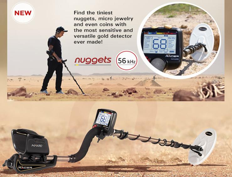 nuggets24 Makro Detector Gold Racer Metal Detector