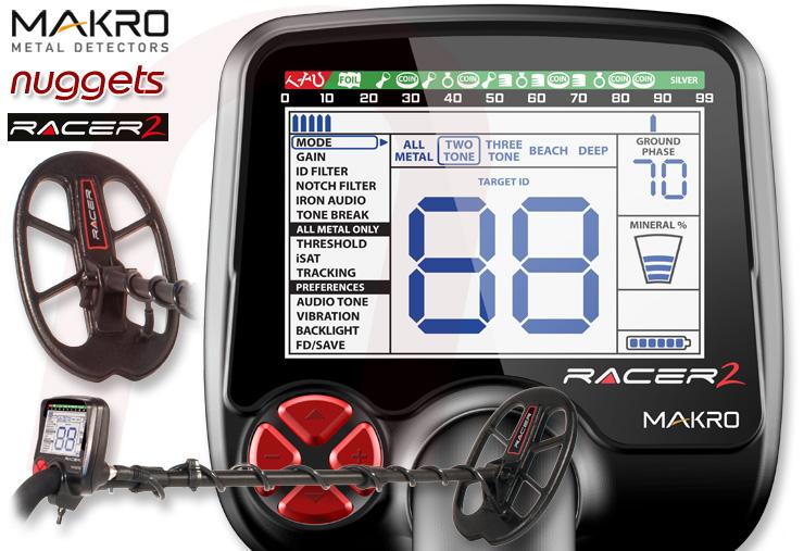 Makro Detektor www.nuggets24.de Racer 2 Racer2