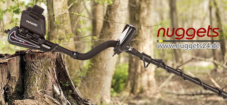 Makro Detector RACER2 Racer 2 Metal Detector bei nuggets24 kaufen