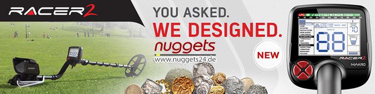 Makro Detectors Racer 2 Metalldetektor nuggets24.de