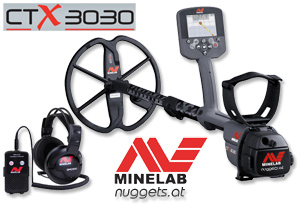 Minelab CTX 3030 Metalldtektor bei www.ctx3030.de Test Video Info